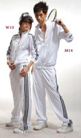 1 sets lot Brand New Classic Fashion mens womens tracksuits ...
