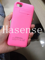 Wholesale HOT mah Power case for iphone5 S External Backup Battery Charger Case For iphone S Power charger case for iphone S