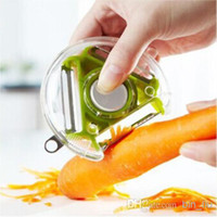 Wholesale New in1 Design Kitchen Use Tool Fruits Vegetables Rotary Peeler Paring knife Cooking Tools
