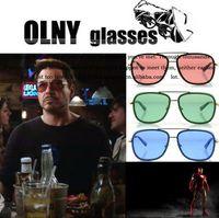 Wholesale 2013 IRON MAN Matsuda Sunglasses men brand designer Metal Frame sunglasses With Box Case Bulk Wholsale