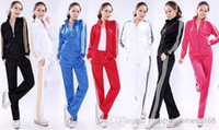 5 sets lot Lower price Fashion mens womens tracksuits sport ...