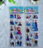 Wholesale Cartoon frozen sticker elsa anna party decoration classic toys children baby toys new popular items cm gmy