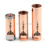 DHL free !!!Red stingray Full Mechanical mod red copper stin...