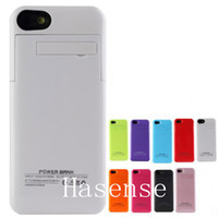 Wholesale 2200mah Power case for iphone5 S External Backup Battery Charger Case For iphone S Power charger case for iphone S