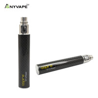 CF G-Power stainless steel fiber - Aspire CF G power Battery aspire new stainless steel Carbon Fiber Coated Tube rechargeable ego Battery high end e cigarette power systems