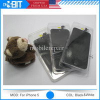 For Apple iPhone LCD Screen Panels Black/White Wholesale - AAA Quality For iPhone Touch Screen Digitizer & LCD Assembly Replacement For iPhone 4 4S 5 5S 5C Black White Free DHL 3