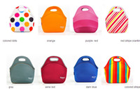 Fabric baby food cooler - Fashion lunch bags insulation neoprene picnic waterproof cooler insulated bag mother baby bag
