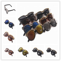 Resin Lenses Beach Oval Unisex Sunglasses UV400 Anti-Reflective Full Frame Resin Lens Accessories Sun Glasses Beach Sunglasses BYADA*10