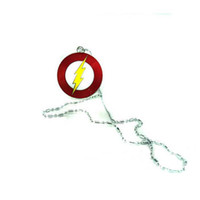 Wholesale Marvel Super Hero The Flash Necklace Metal Pendant Men Jewelry Christmas