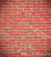 Wholesale Printed photography background fabric brick wall backdrop ft width x ft D