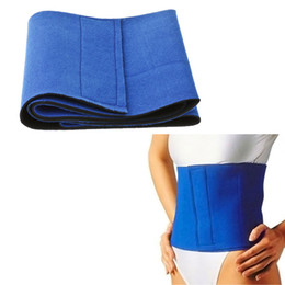 Wholesale Fitness Fat Cellulite Burner Slimming Body Shaper Waist Belt Dropshipping H9119