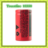 Cheap Trustfire 18350 3.7V 800mAh Rechargeable Battery 2104 Top quality and new style 18350 800 mAh rechargeable battery (0204080)