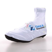 Wholesale 2014 ORICA GREEN EDGE team Cycling Ciclismo Shoe Cover Man Women Mountian Bike Shoe Cover Racing MTB Bicycle Cycle Shoe Cover