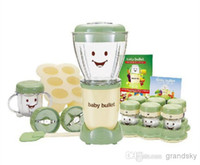 Wholesale New Magic Baby Bullet Juice Extractor W Blender Mixer Extractor Blender Complete Baby Food Making System Kitchen Appliances DHL Free