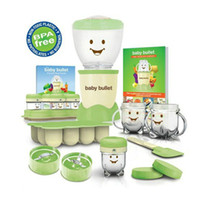 Wholesale Baby Bullet Children juicer baby food machine AU US UK Plugs Babybullet Multi functional Juicer Baby Food Making System Kitchen Appliances