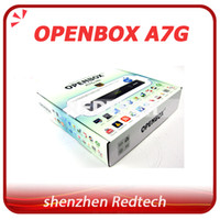 Wholesale 2pcs Original Openbox A7G with GPRS USB Wifi function Digital satellite receiver replace openbox z5 support iptv youtube cccam