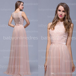 Wholesale 2014 Dusty Pink High Neck A Line Chiffon Sheer Mother Of The Bride Dresses Plus Size Formal Evening Gowns Prom Dress BZP0335