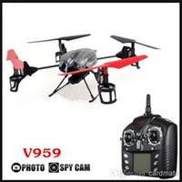 Wholesale Wltoys V959 Upgraded V222 Axis CH RC Quadcopter With Camera RTF Ghz