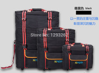 Wholesale 158 air Luggage shipment abroad package large capacity luggage folding suitcase checked airplane luggage