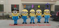 minion costume - 2015 New Minions Mascot Costume Minions Mascot Stuart and kevin Minions Mascot Costume