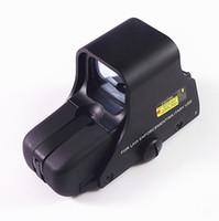 Wholesale 551Riflescope Outdoor Red Dot Hunting Scopes Weaver rail Mounts Micro Sight Dark Optics Red Good Quality