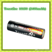 Cheap Trustfire 18650 3.7V 2400mAh Rechargeable Battery 2014 newest Trustfire 18650 2400 mAh battery