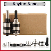 in germany - Russia Design Kayfun RBA Atomizers New Style Kayfun Nano Rebuidable Atomizer Gift Box Packing Made in Germany DHL Freeshipping