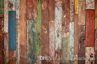 backdrops - Printed photography background fabric wood floor backdrop ft width x ft D