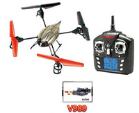 Wholesale WLtoys V989 Axis CH RC Quadcopter With Missile Launcher RTF G