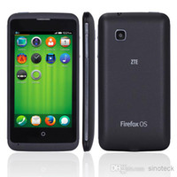Cheap ZTE Open C Firefox OS 1.3 SmartPhone 3G 4.0 Inch Android 4.4 Kitkat Dual Core 1.2GHZ MSM8210 Qualcomm Unlocked Smart Phone Cheap Cell DHL