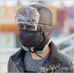 Wholesale 2014 New Winter Men Trapper Hats Fashionable Warm Thicken Skiing Cap Outdoor Elder Trapper Hats Multicolor