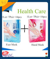 hand and foot - New Shea Butter Smoothing Whitening Moisturizing Gloves And Socks For Hands Feet Skin Care Hand Mask pairs pieces Fast Shipping