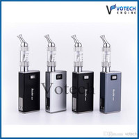 Single sliver, black, grey Metal Wholesale 2014 New Arrival Hot Genuine Innokin Itaste Mvp 2.0 iclear 30 clearomizer kit come with 2600mah battery free shipping