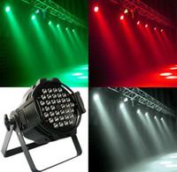 active aluminium - 36 W LED Par Light led par stage lighting LED par Cast Aluminium DMX512 CH KTV DJ Party Stage lights Fedex DHL free