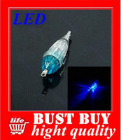 Wholesale 5 LED Mini Deep Drop Underwater Fishing Squid Bait Lure Light Blue Flashing hight quality factory supplies