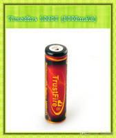 Cheap Trustfire 18650 3.7V 3000mAh Rechargeable Battery 2014 refinement 18650 huge capacity 3000 mAh battery (0204082)