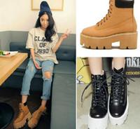 Cheap Half Boots Korea stylenanda Spring c Best PU Wedge .