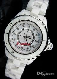 luxury women watches lady swiss calssic 12 White ceramic diamond quartz watch movement fashion designer modern womens dressing wristwatches