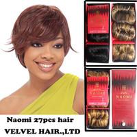 Wholesale 1PC Indian Remy Virgin Human Hair Naomi l Bump Human Hair Weave Human Hair Toupee Color1 P2 P2 P4
