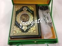 Wholesale New Box Islamic Koran Coran Quran Pen Reader M9 books GB QURAN READ PEN