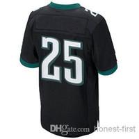 Drop Shipping #25 LeSean McCoy Black 2014 Elite Jersey Ameri...