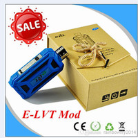 Cheap Electronic cigarette ELVT 18650 Battery mod for eGo 520 series atomzier clearomizer, E-LVT Mod VS Itaste 134 Variable Voltage Battery