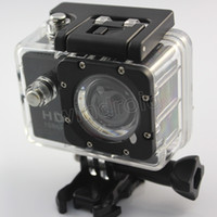 Wholesale Mini Waterproof HD Action Sports Camera SJ4000 Style S8 Diving fps H P M Camera Inch View DV HDMI Camcorders