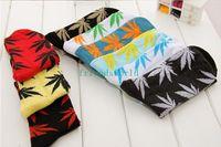 Wholesale skateboard sock harajuku plantlife men woman Marijuana Weed Leaf diamond socks stocking ayumi ssur stockings
