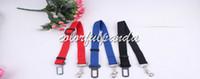 Wholesale 3 colors new Adjustable Car Vehicle Safety Seatbelt Seat Belt Harness Lead for Cat Dog Pet cm