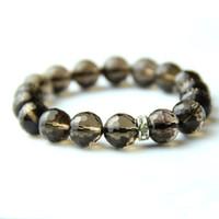 Cheap Genuine natural crystal bracelet female models disabilities Korean fashion natural citrine smoky quartz bracelet jewelry for men and women