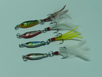 Wholesale FISHING LURESINTRA PROFESSIONAL MULTI COLORED METAL TACKLE FLY FISHING LURE BAIT G CM LEAD JIGS LURE