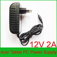 Wholesale 1pcs High quality IC program V A Power Adapter Charger for Acer Iconia Tab A500 A501 A200 A100 A101Tablet PC Power Supply