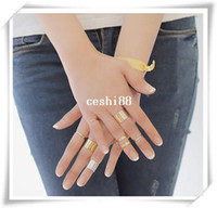 Cheap New Fashion jewelry finger ring set for women girl lovers' gift wholesale 1set=3pcs R1013