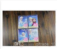 Wholesale 4 styles frozen small waterproof mirror mini makeup card bag mirror theme Mini Portable Pocket Mirror Girls Anna Elsa frozenc357